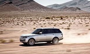 MILLIONBIL: Range Rover fra 2013. Foto: Land Rover