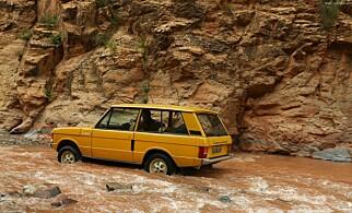 LUKSUS-SUV: Range Rover fra 1970.