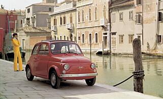 MIKKE MUS: Fiat 500 fra 1957.