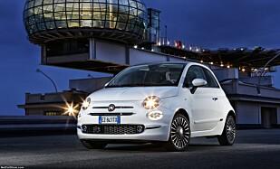 RETRO: Fiat 500 fra 2016. Foto: Fiat
