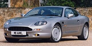 AMERIKANSK? På 90-tallet vil noen hevde Aston Martin DB7 mistet noe av den britiske sjelen.