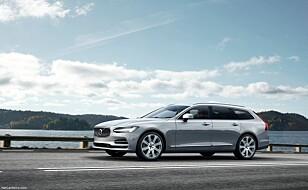 LUKSURIØS: Nye Volvo V90. Foto: Volvo