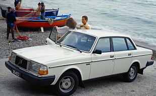 FIRKANTET: Volvo 240.