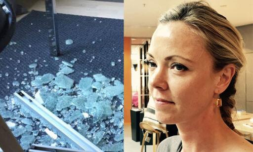 image: Cecilie våknet opp til et Ikea-glassbord i tusen knas
