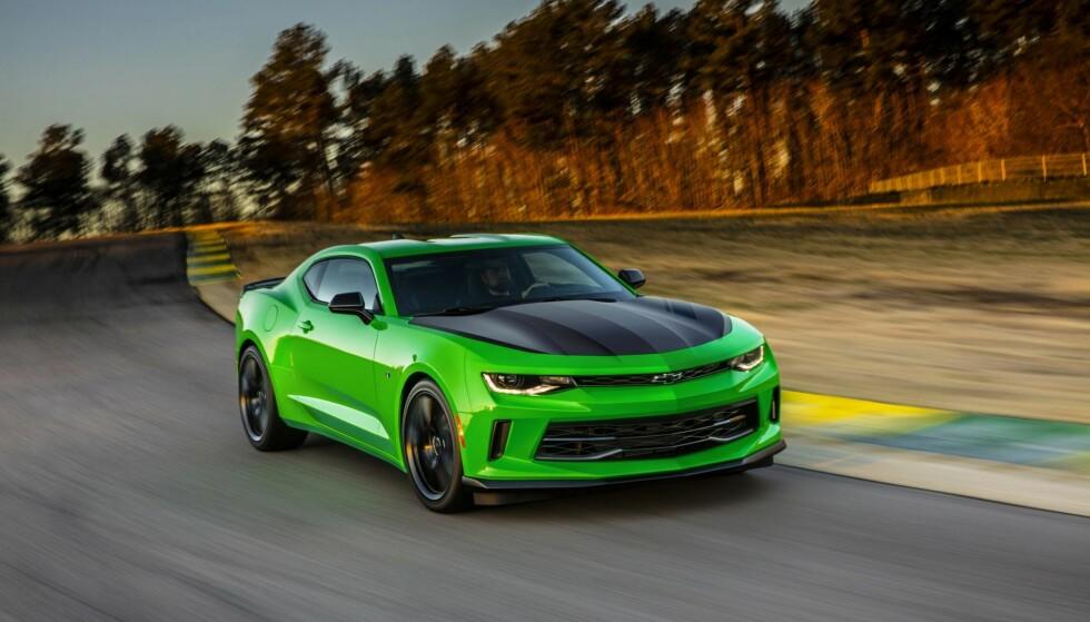 Enklere import: Nå sidestilles import av amerikanske biler som har vært registrert mer enn 6 mnd. med import av europeiske biler. Foto Chevrolet