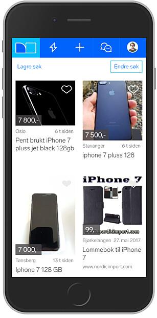 SELG SELV: Toppmodeller, spesielt iPhone-er, holder seg relativt godt i pris på bruktmarkedet, også et år etter kjøp. Selger du selv, vil du trolig få tilbake mer enn halve kjøpssummen. Foto: Ole Petter Baugerød Stokke