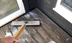 image: Unngå tabbene når du vasker terrassen