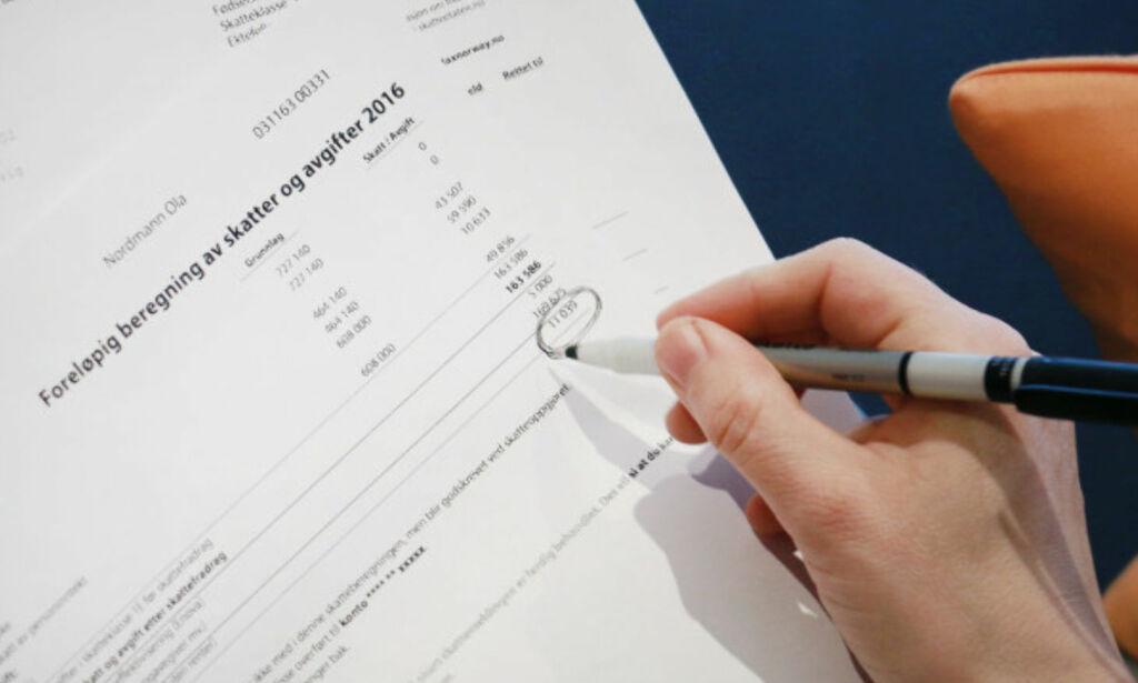 image: Se når skattepengene kommer på konto