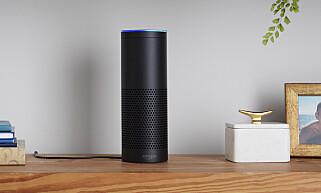 SMAL: Amazon Echo er en del smalere enn konkurrentene fra Google og Apple. Foto: Amazon