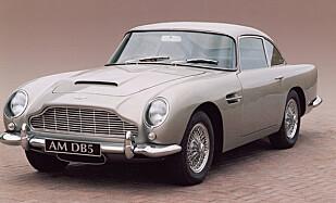 GENTLEMANBIL: Aston Martin DB5.