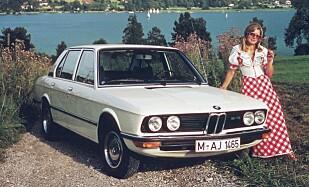 BMW 5-serie fra 1972.