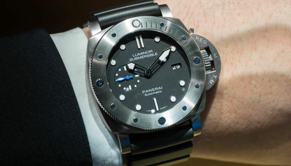 VANNRESISTENT: Selv spesialiserte dykker-ur lekker om trykket blir høyt nok. Foto: Tidssonen.no
