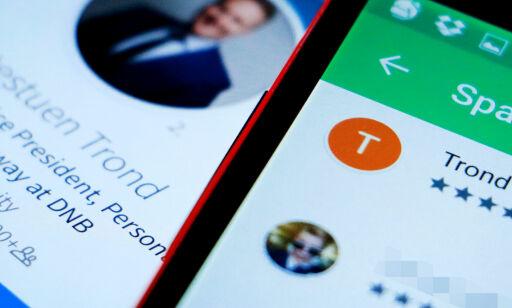 image: Da DNB-ansatte ble bedt om å vurdere egen app, var dommen fem stjerner ...