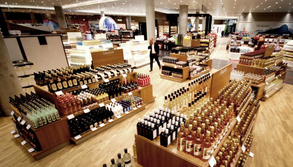 TAXFREE: Travel Retail Norway står bak dagens taxfree-tilbud på Gardermoen. Men Vinmonopolet ønsker å ta over. Foto: Ole Petter Baugerød Stokke