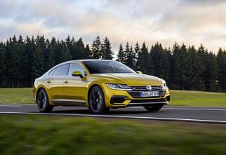 Volkswagens nye flaggskip har landet i Norge