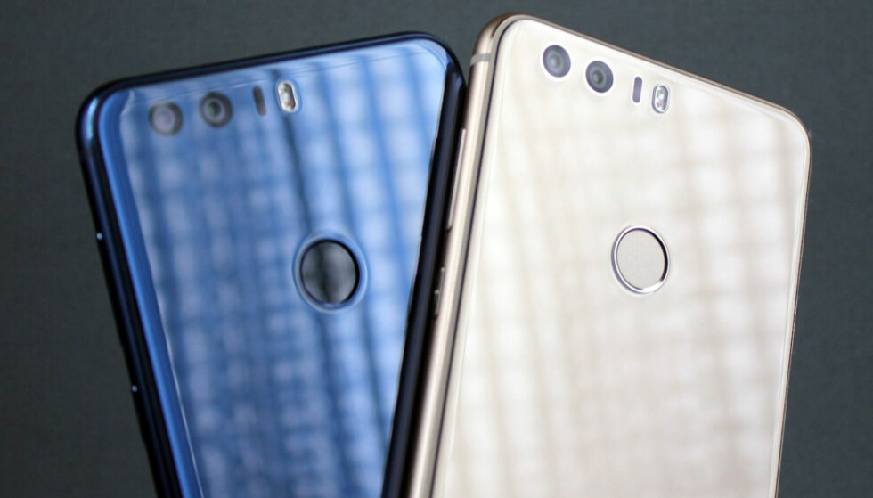 KNALLKJØP: Vi kalte den høstens smarteste mobilkjøp i fjor, men også i år er Honor 8 ett av sommerens beste kjøp. Foto: Pål Joakim Pollen