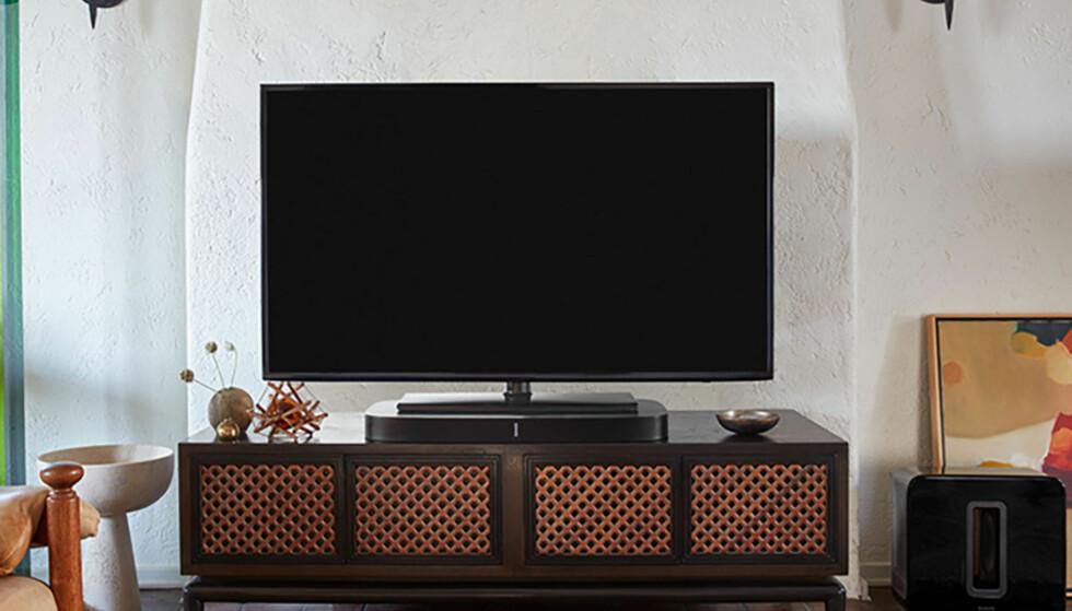 FLATE TV-ER HAR DÅRLIG LYD: Vil du ha det litt moro i TV-kroken, eller bare høre tydelig og klart det som blir sagt, behøver du en ekstra høyttaler.
