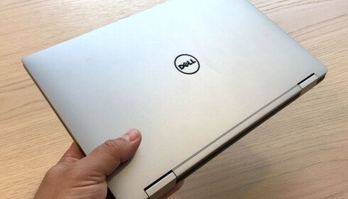 METALL: Dell har benyttet metall rund baut.