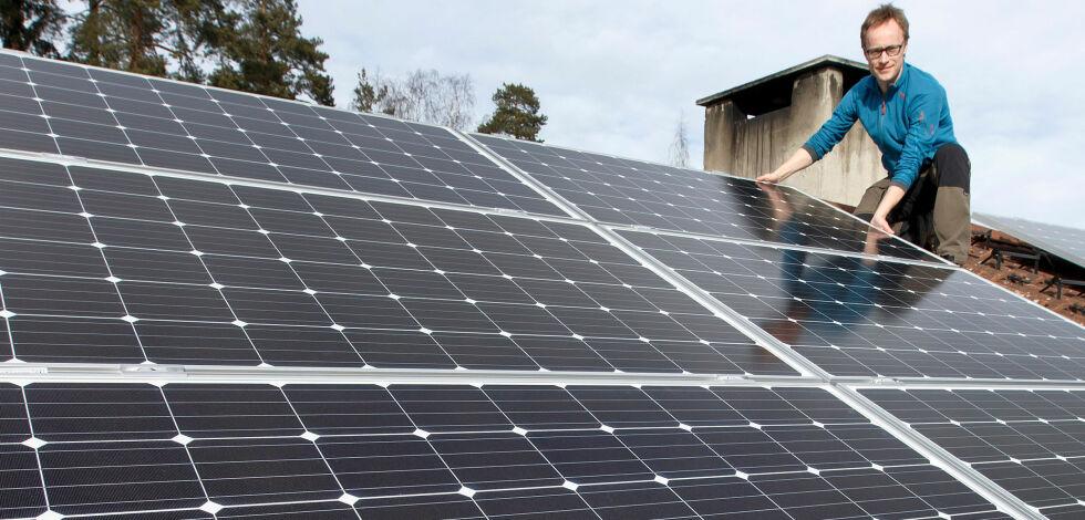 image: Vil kreve solcellepanel på hyttetak