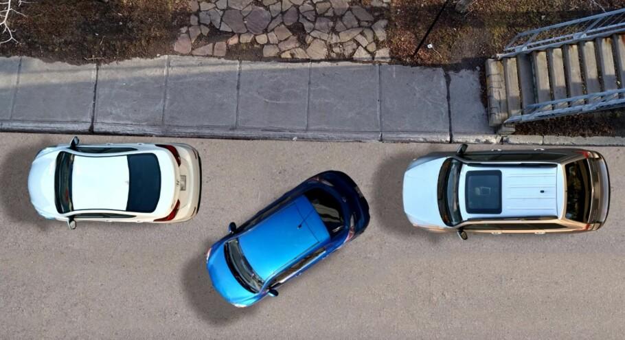 ENKLERE ENN DU TROR: Følger du rådene i denne saken, vil du lære å lukeparkere på 1-2-3. Illustrasjon: Youtube/conduitefacile.com