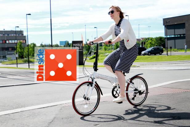 TRINX KS2007: Denne er testens beste å sykle på, det er en drøm! Foto: Ole Petter Baugerød Stokke
