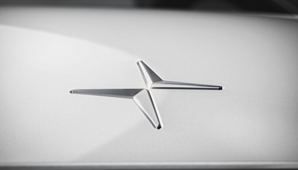 POLESTAR: Som et frittstående merke og med denne logoen skal Volvo ta opp kampen med Tesla og andre super-elbiler. Foto: Polestar
