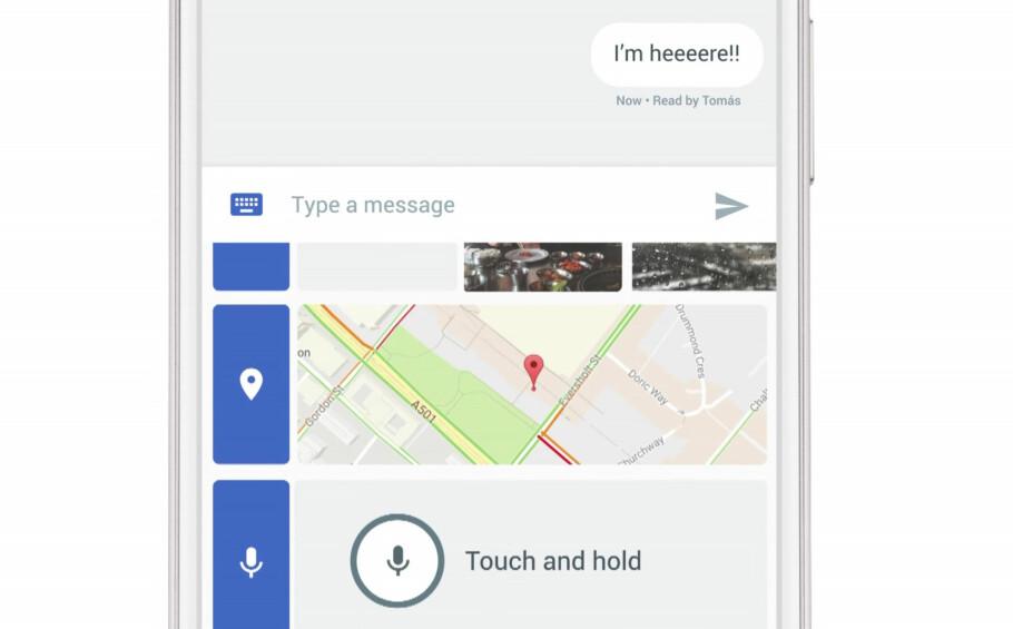 RIKERE MELDINGER: Nå kommer RCS, arvtakeren til SMS. Foto: Google/YouTube