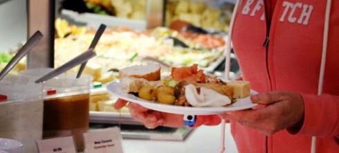 Fikk rester og dårlig buffetmat på all inclusive