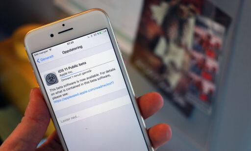 image: Slik kan du teste høstens iPhone-oppgradering nå