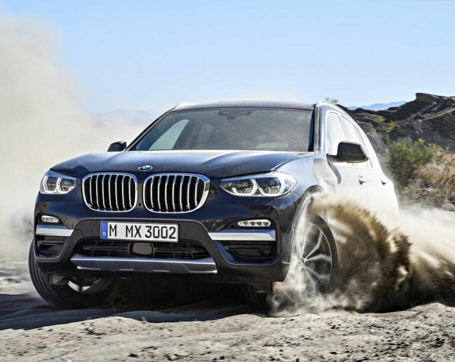 NYE BMW X3: I november kommer tredje generasjon av den premium-SUV'en til Norge. Foto: BMW