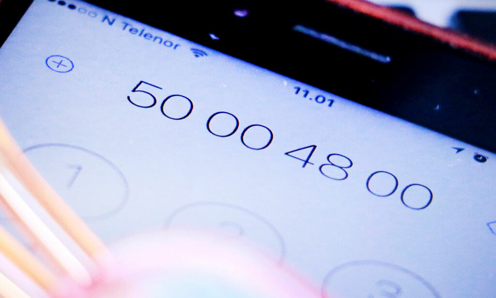 image: Dette kan bli Norges nye telefonnummer