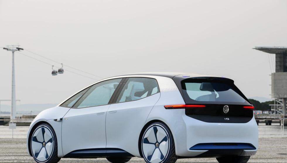 <strong>KOMMER I 2020:</strong> Først ut av den nye generasjonen elbiler fra VW blir ID-kombien basert på konseptet fra 2016. Foto: Ingo Barenschee