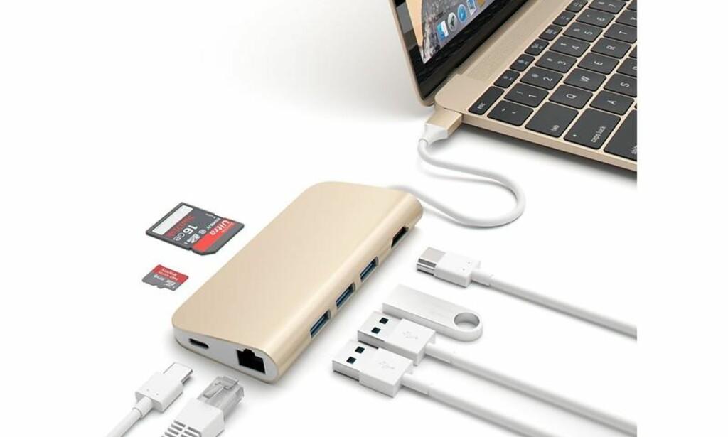 image: Sju ting du kan putte i USB-C-porten