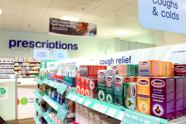 MYE BILLIGERE APOTEKVARER: Vi fant apotekvarer som var 91 prosent billigere på apotek i London, sammenliknet i Norge. Foto: Berit B. Njarga