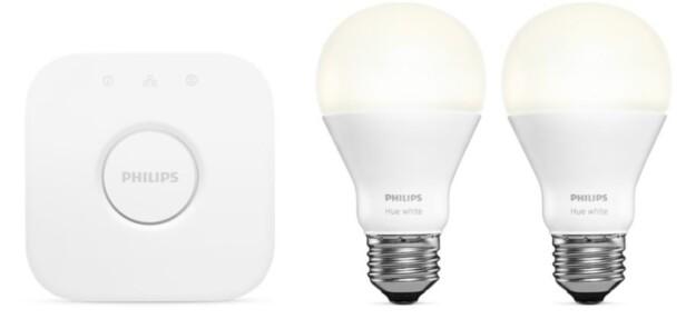MARKEDSLEDEREN: Philips Hue har mange utfordrere, men har fortsatt et godt grep om markedet for smartlys. Foto: Philips