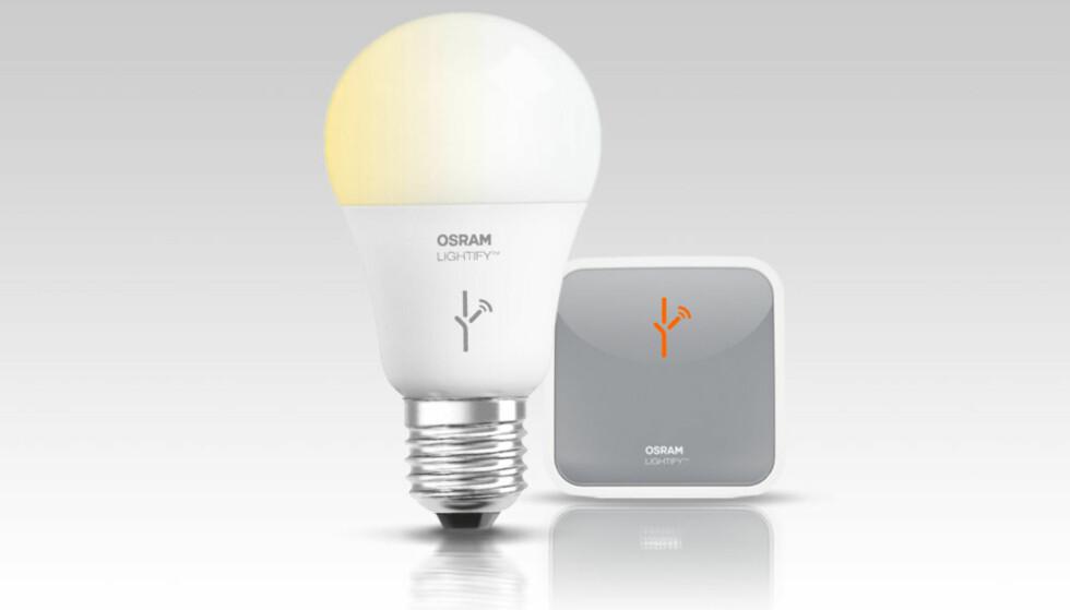 MED PÅ LAGET: Osram er Philips viktigste konkurrent når det gjelder tradisjonelle lyspærer. Men foreløpig har ikke Osram Lightify klart å ta samme posisjon som Philips Hue.