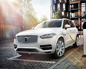 image: Volvos SUV-er blir elbiler