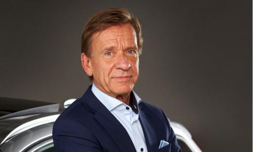 Tidsfester: Konsernsjef Håkan Samuelsson tidsfester utviklingen av elektrifiserte drivlinjer. Foto: Volvo