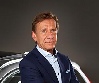 VIL HINDRE ULYKKER: Volvos toppsjef, Håkan Samuelsson. Foto: Volvo