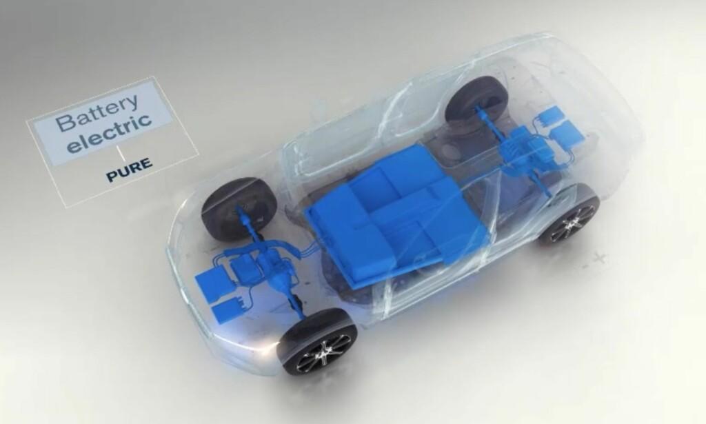 Fem batteribiler: Innen 2021 skal selskapet lansere fem nye batterielektriske modeller. Foto: Volvo