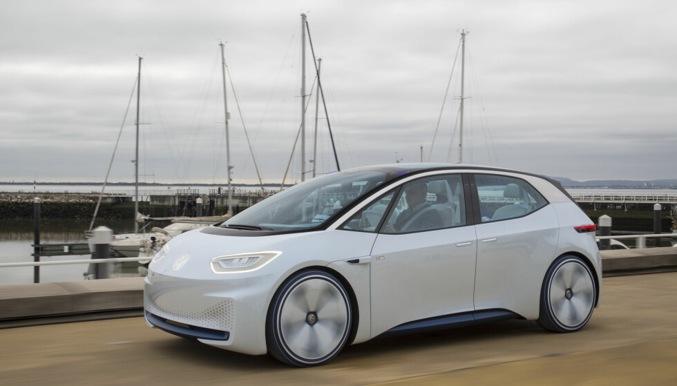 Anno 2020: VW I.D. er annonsert for markedet i 2020. VW skal lansere ytterligere fem rene elbiler innen 2025. Foto: Ingo Barenschee