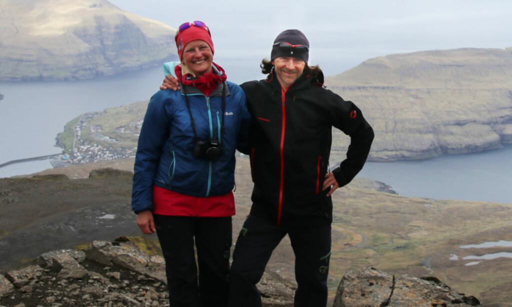 TESTPANELET: Anne Rudsengen og Arnt Flatmo. Foto: Arnt Flatmo