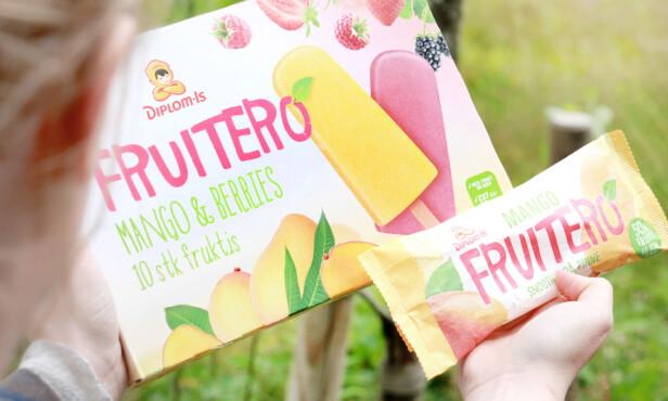 FRUITERO: Synes du det er lett å se at en av disse inneholder mye mindre frukt? Foto: Ole Petter Baugerød Stokke.