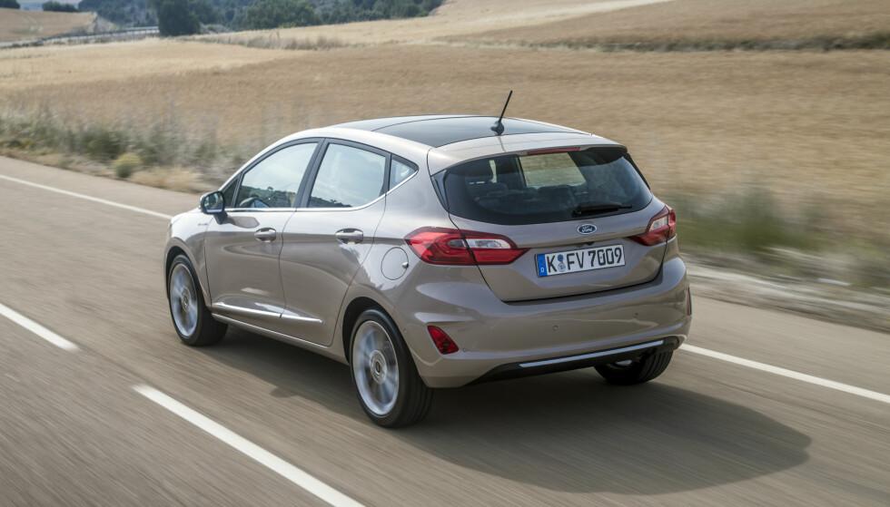 FORFINET: Den minner klart om forgjengeren, men er en helt ny bil på alle områder. Foto: Ford