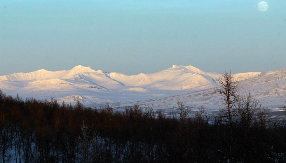 STUGGUDAL: Sylan utgjøres av flere store fjellmassiver fra indre deler av Trøndelag over til Jämtlandsfjällen. Det egentlige Sylmassivet ligger på selve grensen og er det mest alpine med Storsylen (1.762 moh) som høyeste topp.Foto: Gorm Kallestad / SCANPIX (FRB)