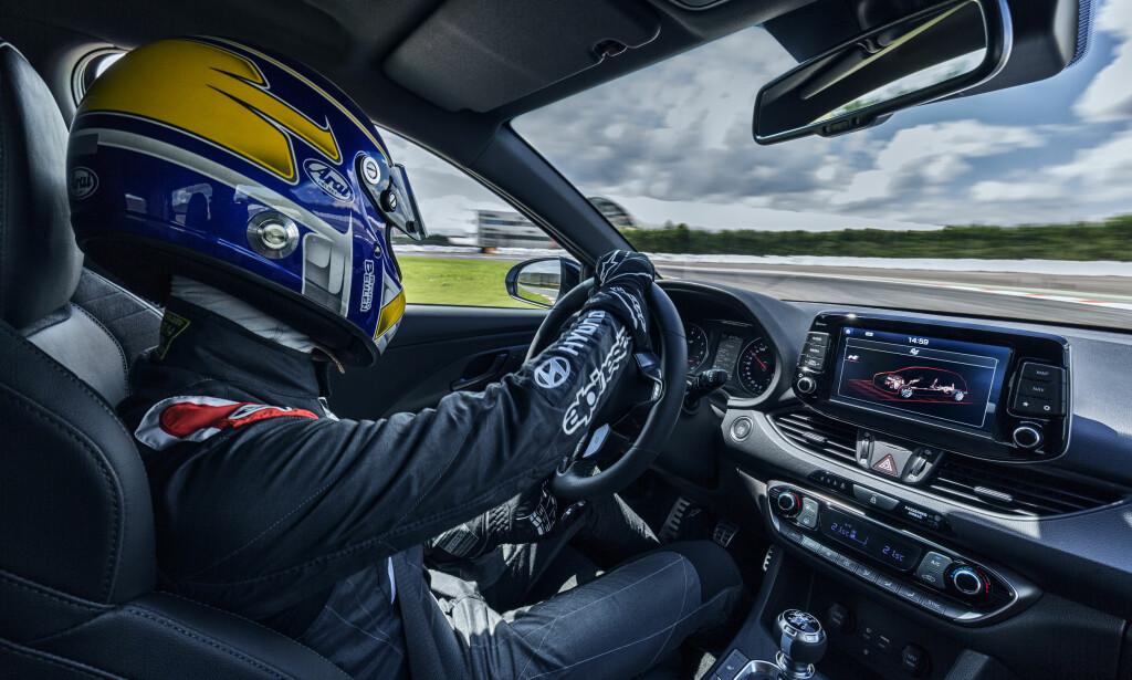Hyundai i30 N har blitt testet og utviklet ved Nürburgring-banen i Tyskland. Foto: Hyundai
