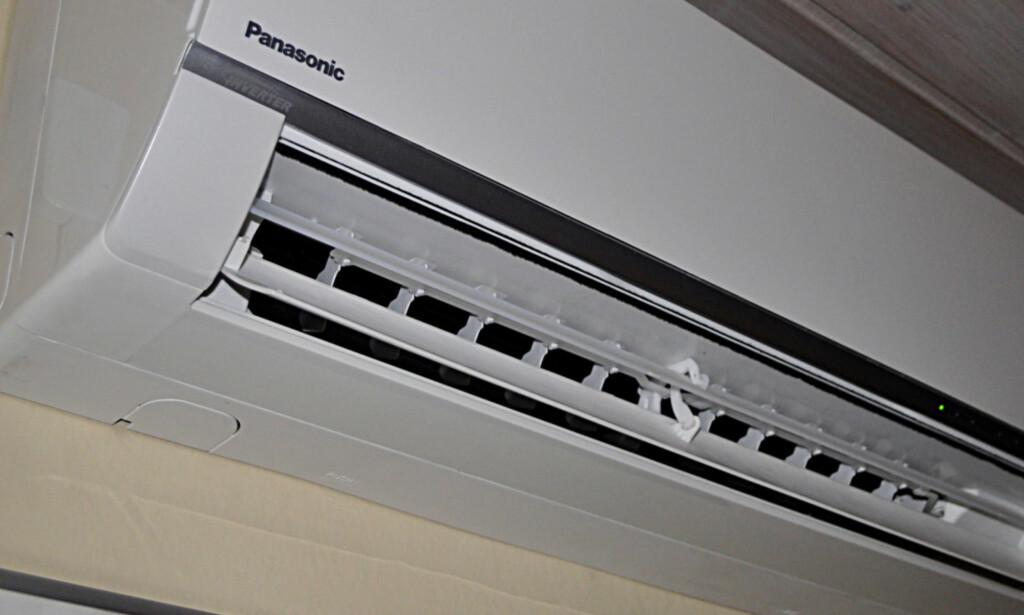 TOVEIS: De fleste varmepumper kan også brukes til kjøling. Foto: Tore Neset