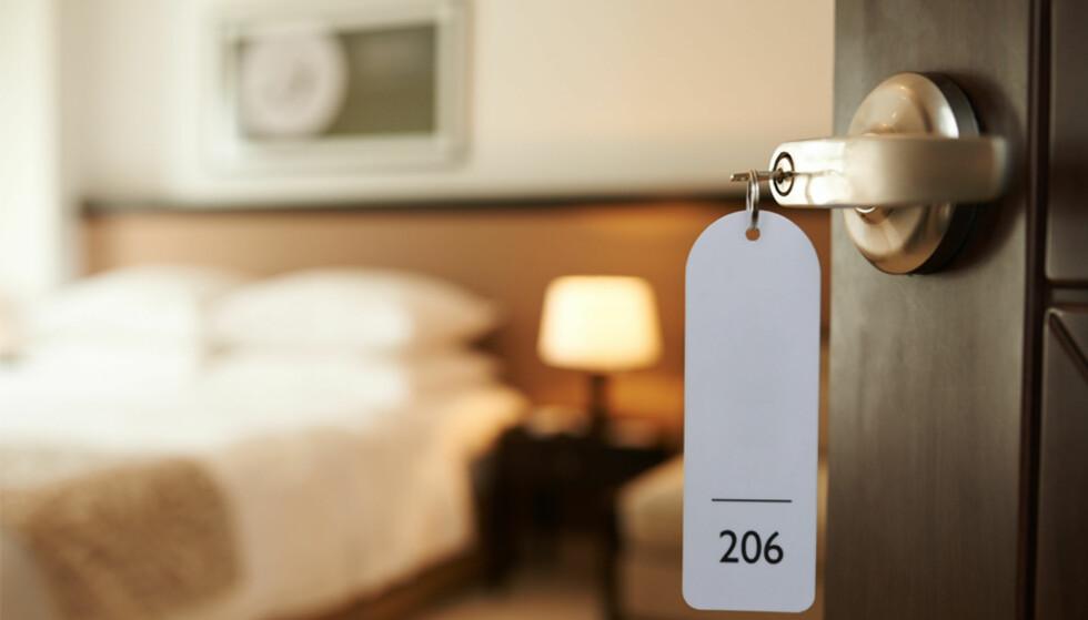<strong>OVERNATTING:</strong> Et skittent hotellrom kan ødelegge ferien, i det minste tildels. Sjekk våre råd for å unngå problemet. Foto: Shutterstock/NTB Scanpix
