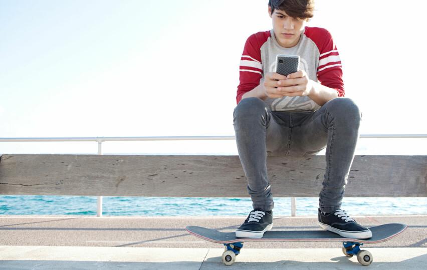 DYRT: Å surfe ombord en ferje kan bli rådyrt. Mobilnettet der er båtens eget, og fri roaming gjelder ikke. Illustrasjonsfoto: Shutterstock / NTB Scanpix