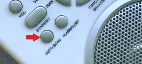 Denne lille knappen må du trykke på når FM slukker